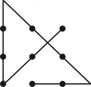 Nine dots solution